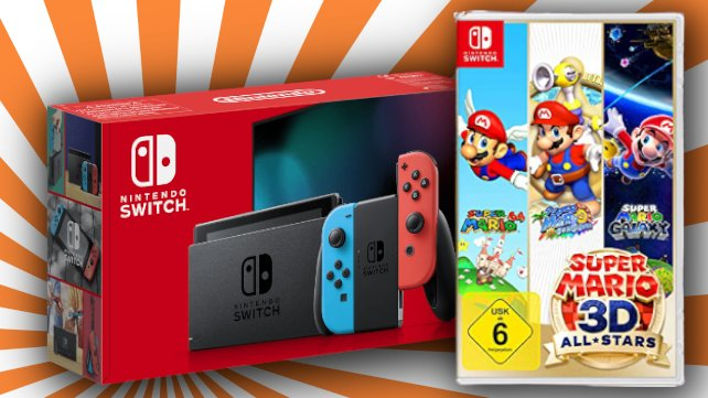 "Bei Saturn gibt's gerade ein attraktives ""Nintendo Switch""-Bundle."