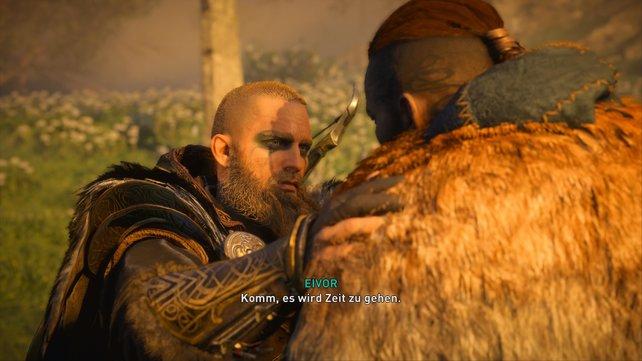 Tatsächlich ist in Valhalla nichts echt, sondern nur eine gewaltige Illusion - Eivor und Sigurd müssen also verschwinden.
