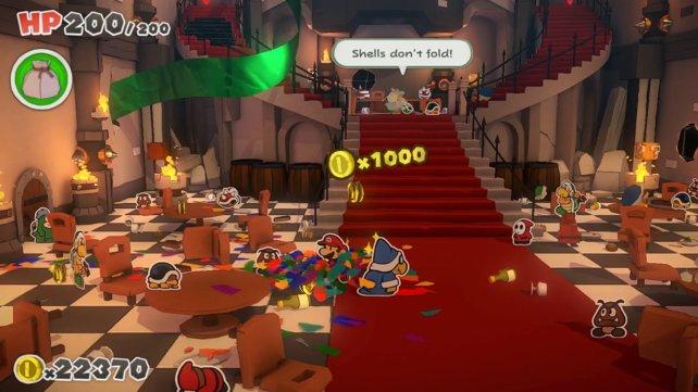 Für jede Unterstützung und jeden gewonnen Kampf erhaltet ihr 1.000 Münzen.