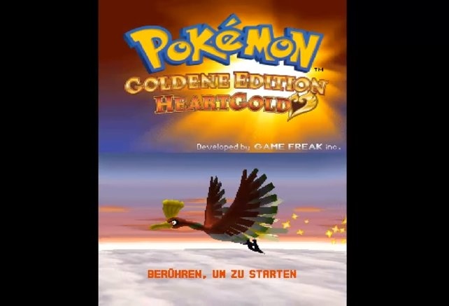 Pokémon Heartgold: Mit den oben genannten Tastenkombos könnt ihr euren Spielstand löschen.