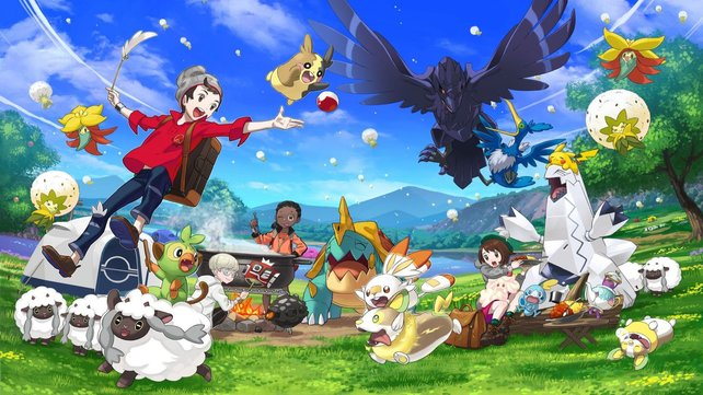 Pokémon: Schwert & Schild ist das neueste Spiel der Reihe und die mittlerweile 18. Edition.