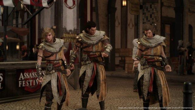 Auch Ignis, Prompto und Gladio bekommen neue Outfits.