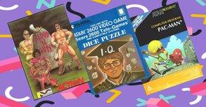 25 x Spiele-Cover des Grauens - Retro Edition