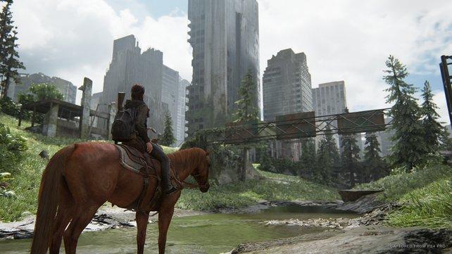 Die Spielwelt sieht wirklich großartig aus und die Grafik ist auf dem neuesten Stand. In den Ruinen der Städte wird in jedem Spieler der Forscherdrang geweckt.
