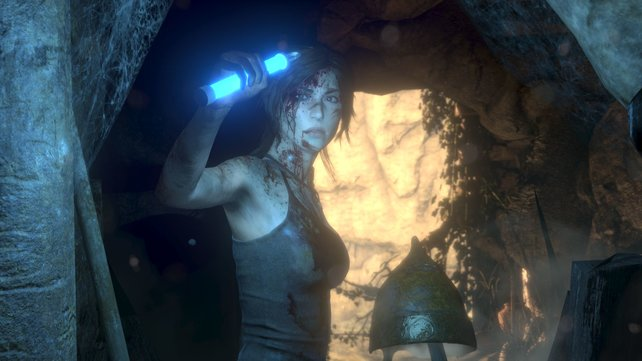 Frau Croft auf PlayStation-Höhlentour - und das seit 20 Jahren.