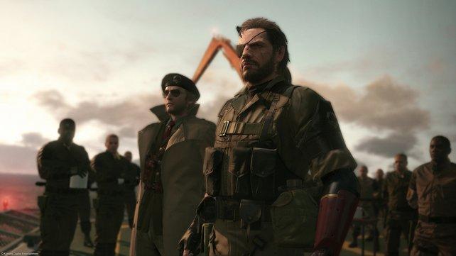 Zusammen mit seinem Kumpel Kaz Miller gründet Snake sein eigenes Militär.