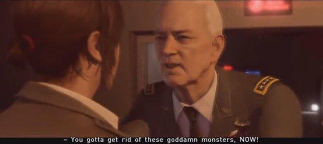 Der General hat seine Fehler erkannt, jetzt wo es fast zu spät ist!