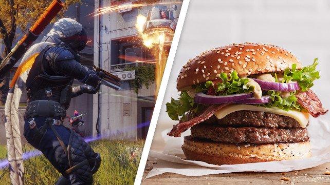 Bald könnt ihr Burger im Stil von Destiny 2 braten. Was auch immer das heißen mag. Quelle: Getty Images / Dahin