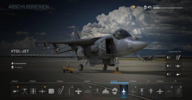 Killstreaks in CoD Modern Warfare sind eher klassisch gehalten.