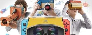 Nintendo Labo - VR-Set: Unterstützung für Mario und Zelda