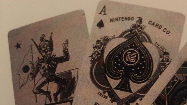 Die ersten Karten nach abendländischer Machart reißt man Nintendo nur so aus den Händen.