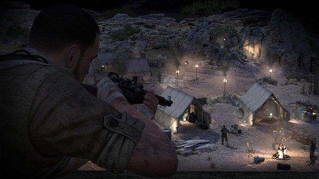 Im Nahkampf ist das Scharfschützengewehr nicht die erste Wahl.