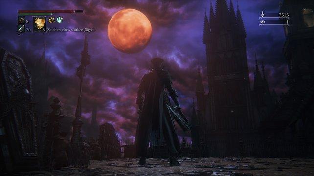 Der Mond färbte sich rot und Yharnam offenbarte seine wahren Schrecken.
