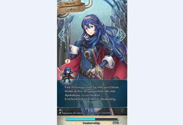 Lucina: die Wissende. Wollt ihr diesen Charakter freischalten, müsst ihr einen roten Orb auswählen.