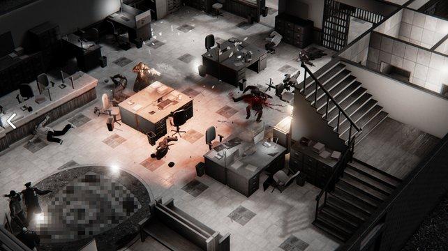 In einer isometrischen Ansicht zelebriert das Spiel den Serienmord.
