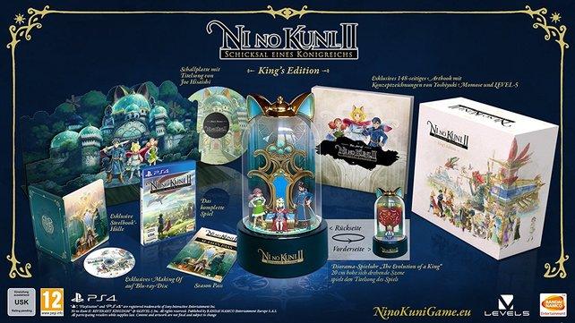 Das sind die Inhalte der King's Edition von Ni No Kuni 2 - Revenant Kingdom.
