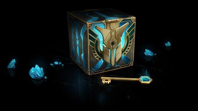 Truhen und Kisten halten ebenfalls Einzug in League of Legends