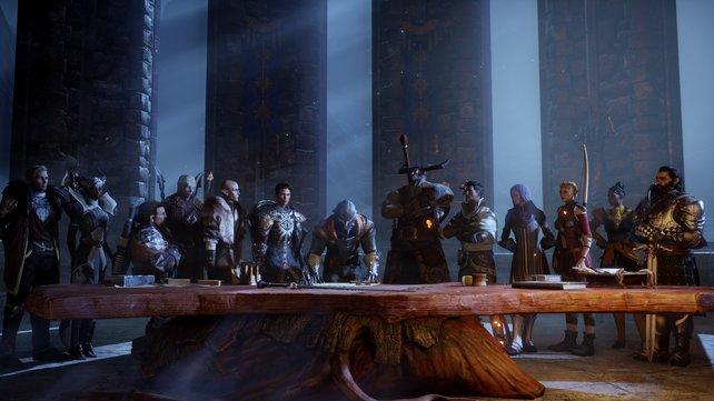 Im Online-Betrieb seid ihr Agenten der Inquisition und durchkämmt mit bis zu vier Spielern zufallsbasierte Missionen.