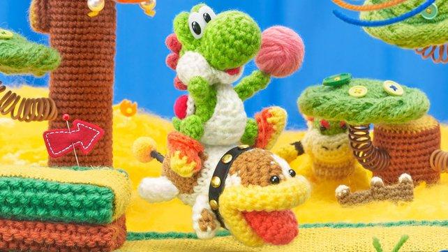 Poochy ist eine treue Seele und hilft Yoshi auf seiner Reise.