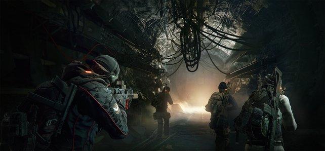 Checkpoints sucht ihr im Untergrund vergebens - nur ein starkes Team meistert diese Operationen.