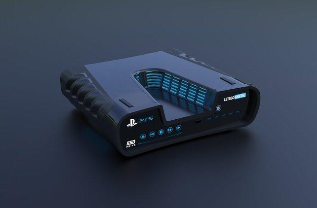 Das Dev-Kit der PS5: So oder so ähnlich könnte die PlayStation 5 aussehen.