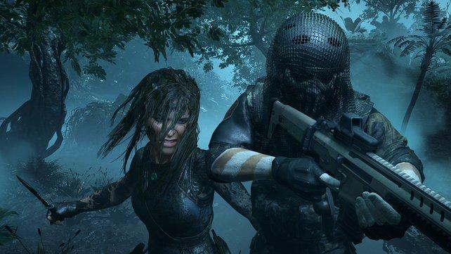 Die in der Regel langen Haare von Lara Croft aus Tomb Raider könnten in der Zukunft deutlich detaillierter ausfallen.