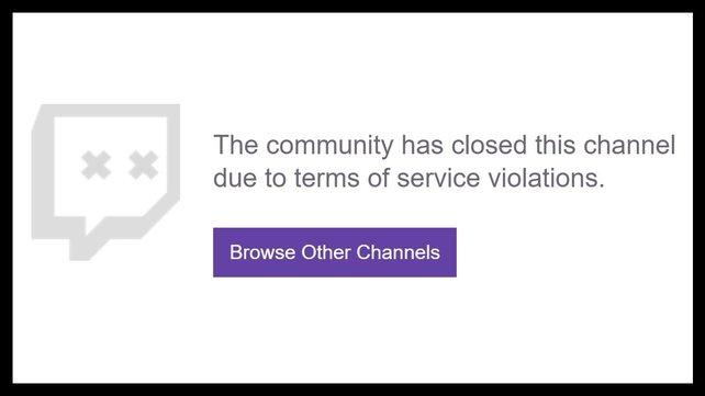 Wer sich auf Twitch nicht zu benehmen weiß, muss mit einem Bann rechnen.