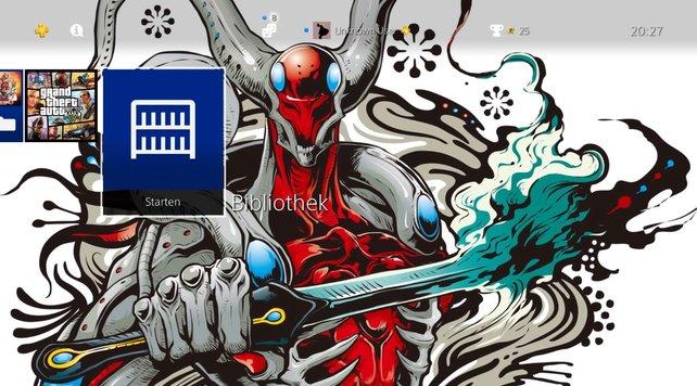 Sieht schick aus, oder? Schon vor langer Zeit haben sich Spieler gewünscht, eigene Bilder als Hintergrund einstellen zu können.