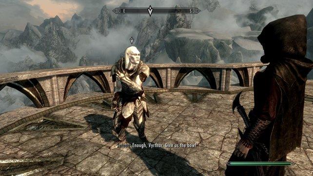 Vyrthur will die Sonne auslöschen. Alles, was er dafür braucht, sind der Auriel-Bogen und Vampirblut.