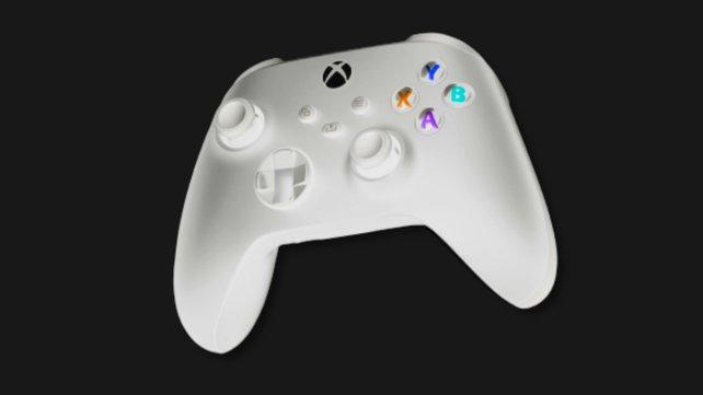 Ein weißer Xbox Series X-Controller - erwartet euch also auch die dazugehörige Konsole?