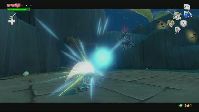 Mit dem Phantom spielt ihr so lange Pingpong, bis es darniederliegt.