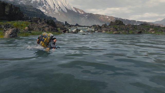 Death Stranding: Allen Pan kreiert ein Workout, das seinesgleichen sucht.