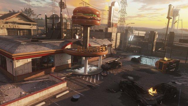 """Burger Town"" gehört seit Modern Warfare 2 zu Infinity Ward."