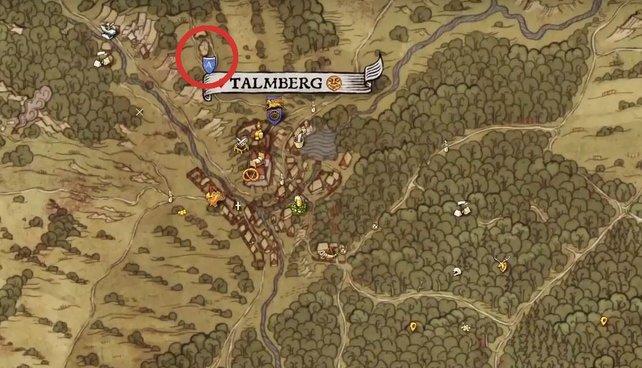 Im Norden von Talmberg findet ihr Lukesch. Für Schaf im Wolfspelz müsst ihr erst einmal Vertrauen aufbauen - und ihm das Jagdhorn von Nickolas bringen.