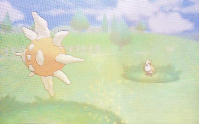 Sandsturm lässt die Energie mancher Pokémon schrumpfen.
