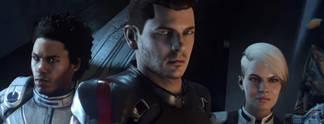 Mass Effect - Andromeda: Begleiter, Bösewichte und Kussszene im neuen Video
