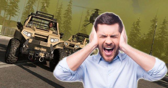 In Season 6 erhielt CoD: Warzone ein Auto-Radio - und damit einen lustigen, aber auch sehr nervigen Bug. Bildquelle: Getty Images / g-stockstudio.
