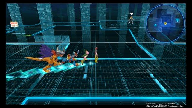 Im Digital Space 11 wartet ein Digimon auf euch.