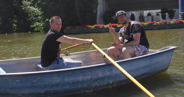 Für Wasser-Pokémon schnappen sich Spieler gerne mal ein Boot.