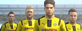 PES 2019: Borussia Dortmund verlässt den Kader