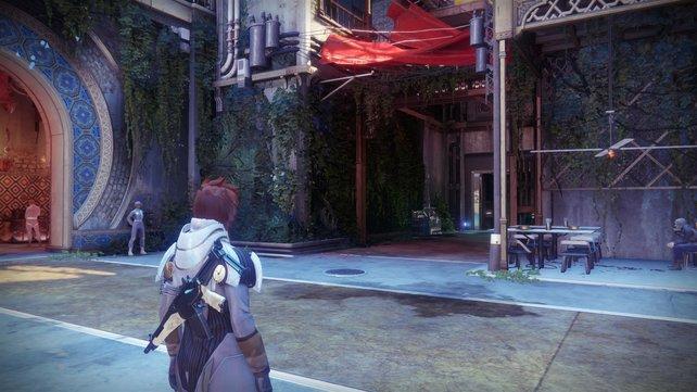 Gegenüber von Ikora hat sich eine Tür geöffnet: Hier findet ihr Ada-1 und die Schwarze Waffenkammer.