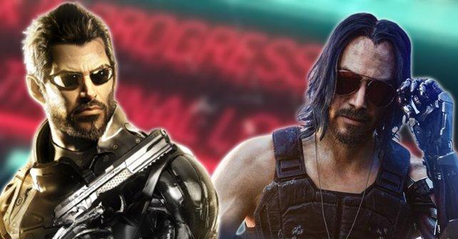 Deus Ex vs. Cyberpunk 2077: Michael greift lieber zum kleineren Spiel, um mehr Spaß zu haben.
