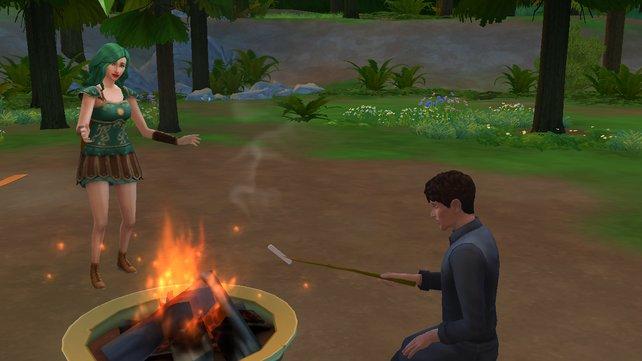 Eure Sims genießen die frische Luft.