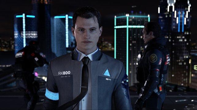Ab wann ist ein Mensch ein Mensch? Fragt sich das Connor während seiner Arbeit?