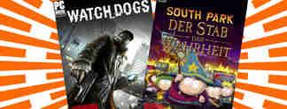 Deals: Schnäppchen des Tages: South Park und Watch Dogs im Angebot