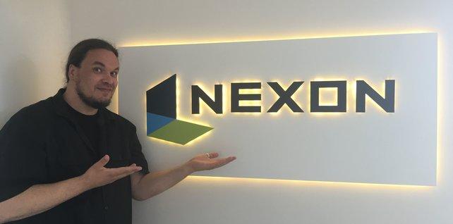 Onkel Jo bei Nexon in Berlin.