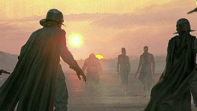 """Concept Art aus dem unfertigen """"Star Wars""""-Spiel von Visceral."""