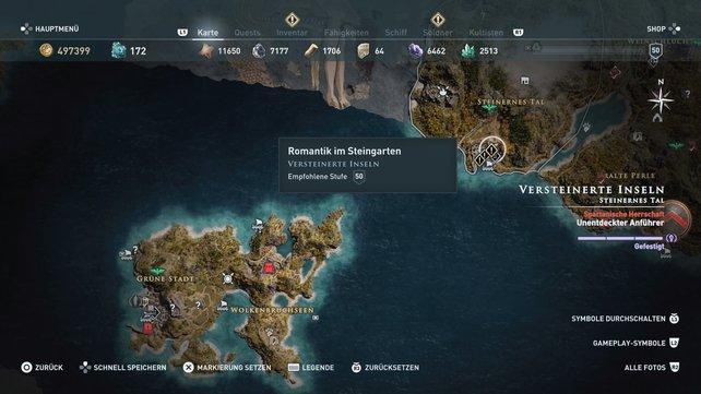 Habt ihr bei Assassin's Creed - Odyssey Lesbos entdeckt, dann seid ihr schon nah an Medusa dran.