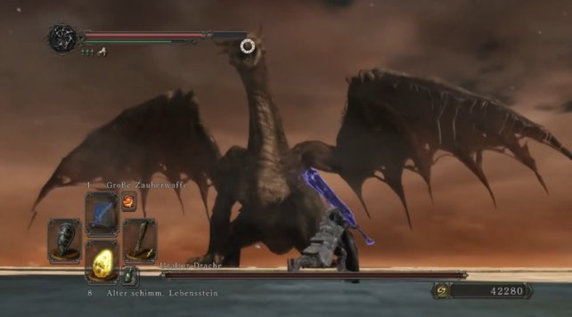OPTIONAL: Boss: Uralter Drache: Dark Souls 2