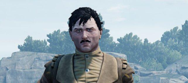 Ein selbst erstellter Hitler in Mordhau. Quelle: reddit.com/r/Mordhau.
